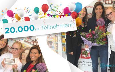 ApoChannel® begrüßt die 20.000ste Teilnehmerin